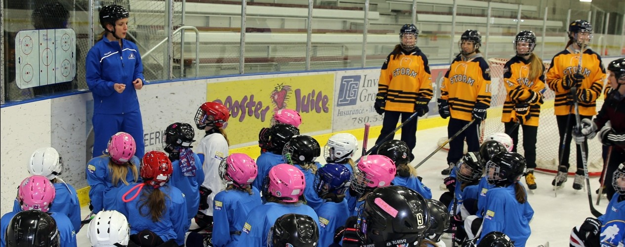 Female Hockey Coaching