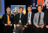 From Left: Ethan Browne, Brayden Tracey, Peyton Krebs, Zach Asthon, Matthew Robertson, and Ethan Kruger. (Photo by LA Media - lamediadesign.photoshelter.com)