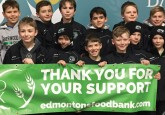 The SPMHA Atom A Jets teams volunteered their time at the Edmonton Food Bank to help sort food donations, just one of the many stories of how Alberta's  hockey community gives back during the holiday season.