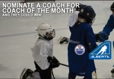 Nominate your coach as Hockey Alberta's Coach of the Month