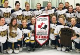 The St. Albert Slash celebrate their Pacific Regional Championship win