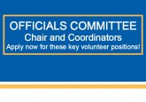 Volunteers sought for Officials Committee positions