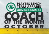 Coach of the Month - October