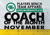 Coach of the Month - November
