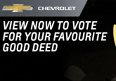 Vote for the Crowfoot Coyotes Peewee AA in the Chevrolet Good Deeds Cup!
