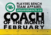 Coach of the Month - February