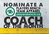 Coach of the Month nomination deadline - March 13