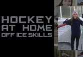 Hockey at Home with Ali Stead: Wide Pulls - Backhand