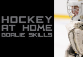 Hockey at Home Goalie Skills - Recoveries & Crease Movement