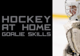 Hockey at Home Goalie Skills - Crease Movement & Screens