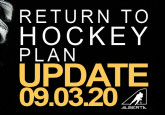 Return to Hockey Update - September 3, 2020