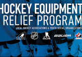 Bauer, Hockey Canada, NHL and NHLPA launch Hockey Equipment Relief Program