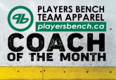 Coach of the Month - Tracy Desmarais