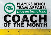Coach of the Month - Derek McEwan