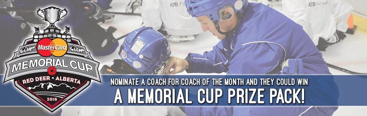 Your Coach Could Go To The Memorial Cup!