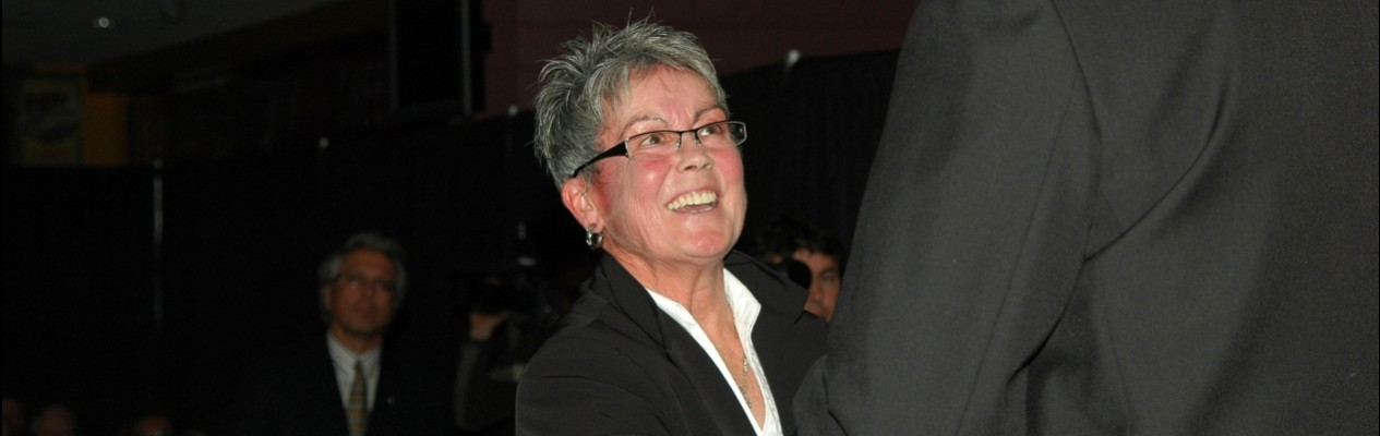 Shirley Cameron To Be Inducted Into Alberta Sports Hall of Fame
