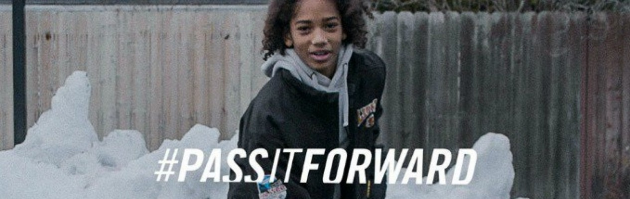 More than a game: #PassItForward