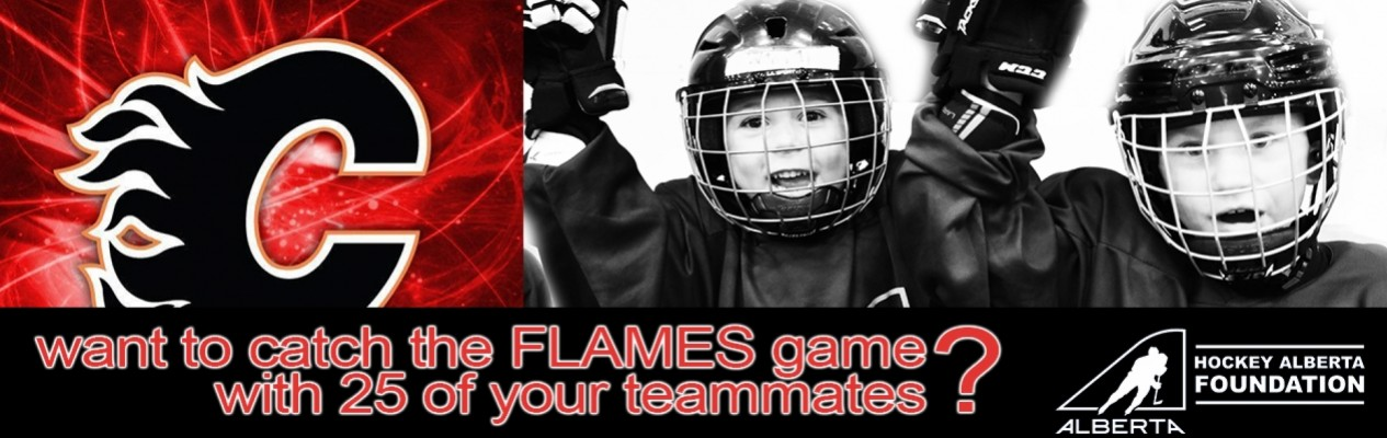 Teammates Helping Teammates - Win 25 tickets to see the Calgary Flames!
