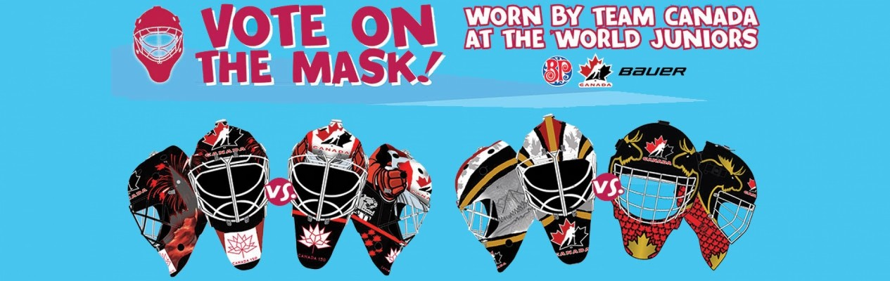 Two Albertans named finalists for Hockey Canada's Design-A-Mask contest