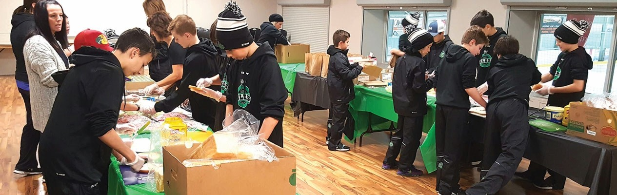 Hockey gives back across Alberta