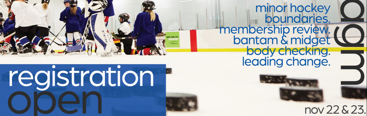 Still time to register for this weekend's AGM/ Hockey Conference
