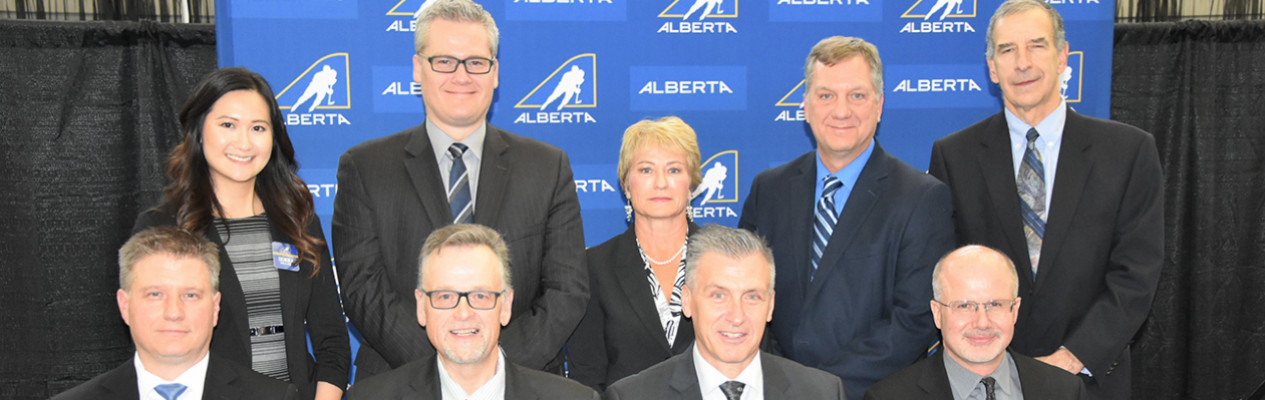 The 2019-20 Hockey Alberta Board of Directors.