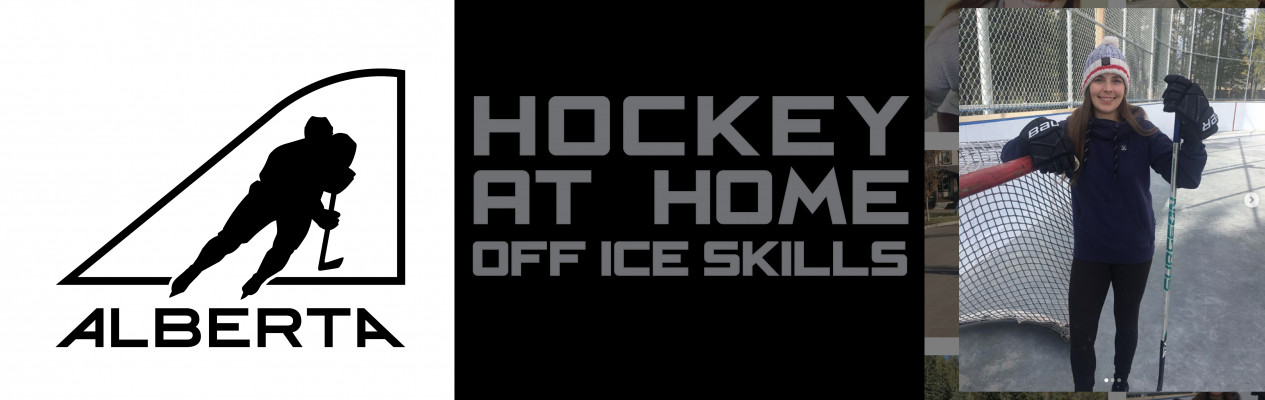 Hockey at Home with Ali Stead: Eyes-up stick handling