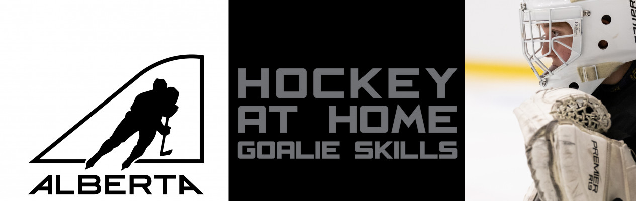 Hockey at Home Goalie Skills - Pulling the Puck Off the Boards and Passing