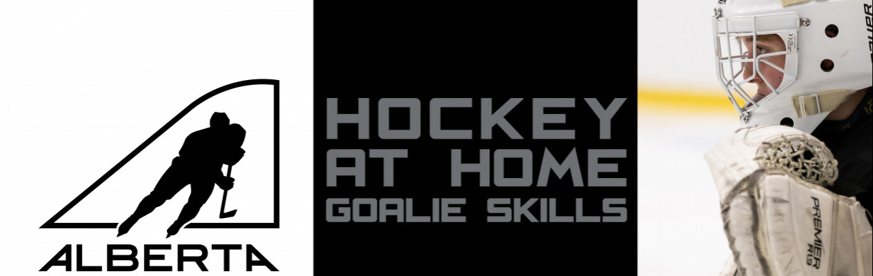 Hockey at Home Goalie Skills - Handling the Puck in a Butterfly