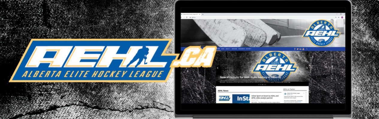 Introducing the new Alberta Elite Hockey League website