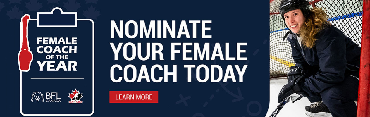 BFL Female Coach of the Year is back!