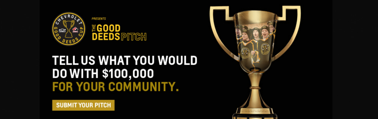 Chevrolet Good Deeds Cup submission deadline approaching