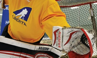 Calling all goalies – registration now open for Hockey Alberta Skills Camps