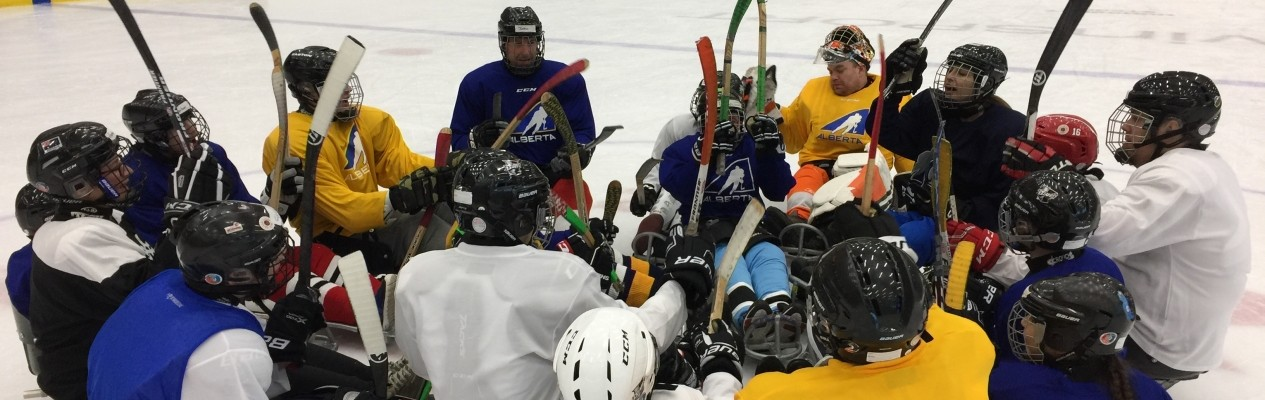 Sledge Hockey Player Development Camp