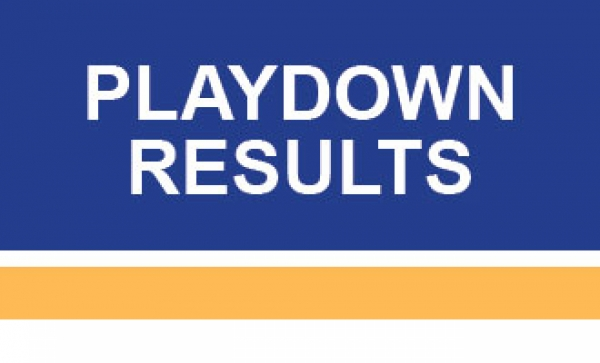 Playdown Results