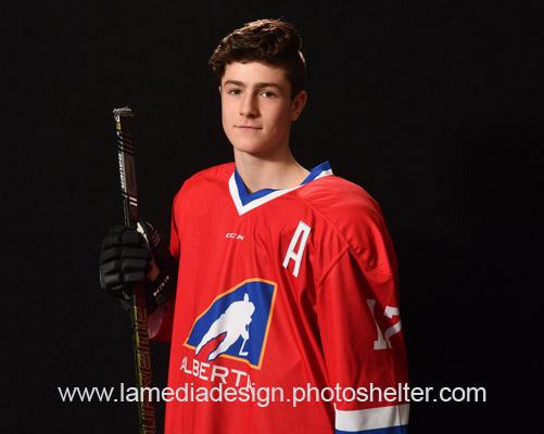 Alberta Cup All-Star Liam Watkins