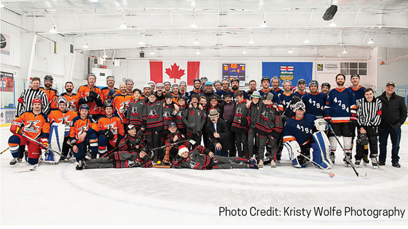Hockey Gives Back Across Alberta Dec 30 2019