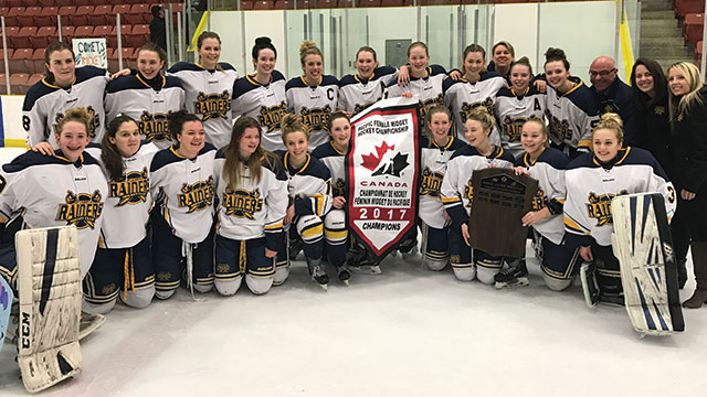 As the inaugural Alberta Female Hockey League season came to a close 6442a317b