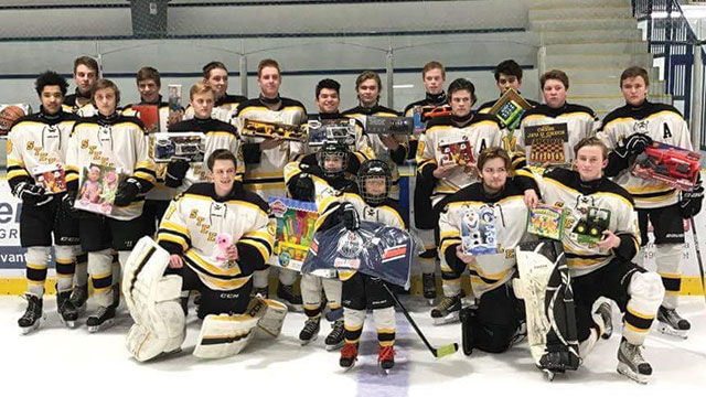 The Barrhead Midget Steelers have hosted a few events this season where  they have given back to their community. In October 03c4a77a6