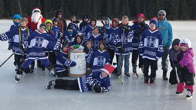 "The Hinton Alstar Peewee Hornets hosted a ""Skate Your Socks Off"" event cd3cce273"